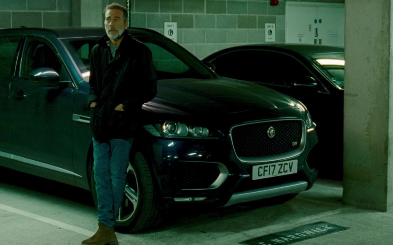Jaguar F-Pace Car in The Postcard Killings