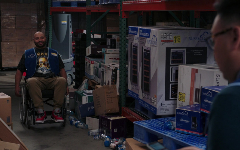 Jordan Sneakers and Core Water in Superstore S05E19