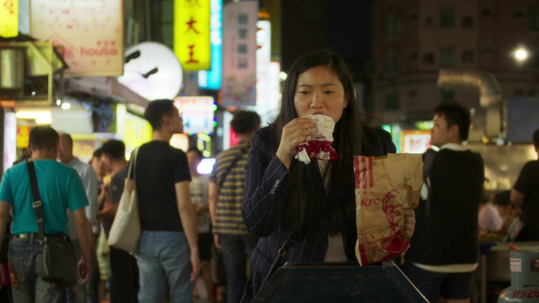 KFC Food Enjoyed by Nora Lum in Awkwafina Is Nora from Queens S01E10 (1)