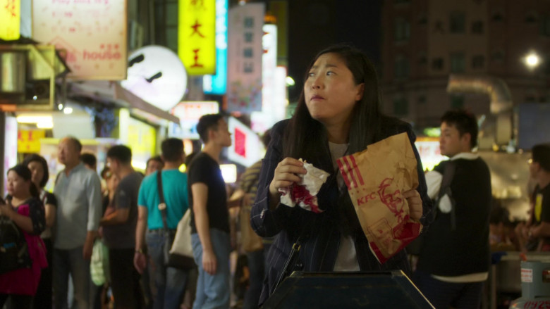 KFC Food Enjoyed by Nora Lum in Awkwafina Is Nora from Queens S01E10 (2)