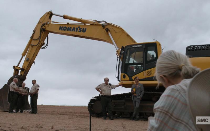Komatsu Excavator in Better Call Saul S05E05