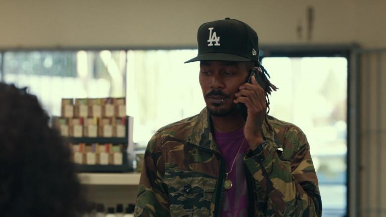 LA Dodgers Black Cap by New Era in Dave S01E05