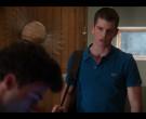 Lacoste Blue Polo Shirt Worn by Miguel Bernardeau in Elite S03E06 Rebeca (2)