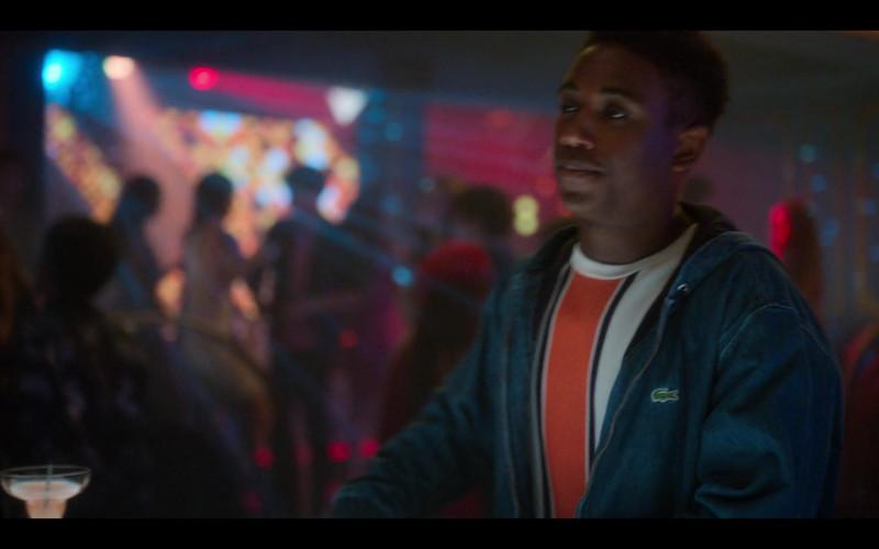 Lacoste Denim Jacket For Men in Elite S03E05 Ander