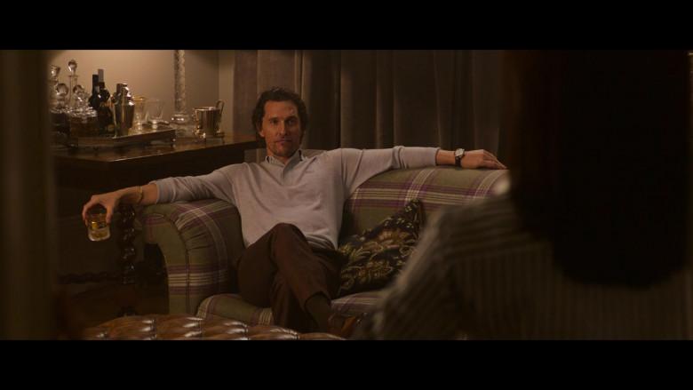 Lacoste Grey Long Sleeve Shirt Worn by Matthew McConaughey in The Gentlemen (1)