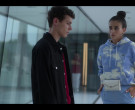 Lacoste Hoodie Worn by Danna Paola as Lu in Elite S03E02 (3)