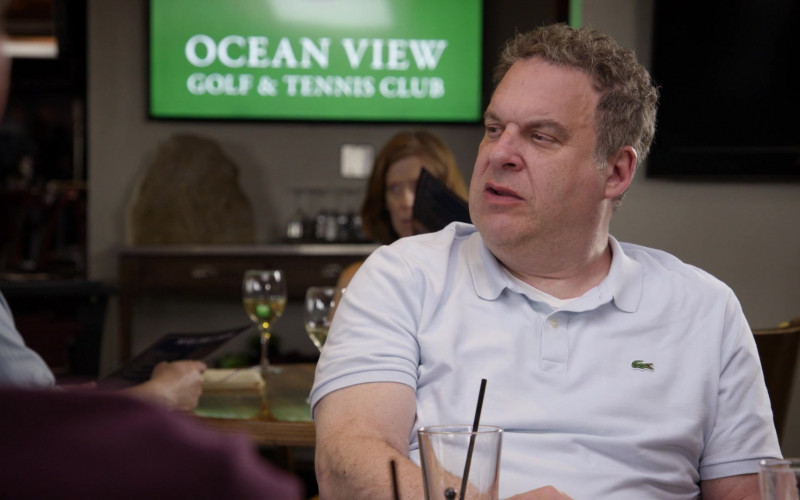 Lacoste Light Blue Polo Shirt Worn by Jeff Garlin in Curb Your Enthusiasm S10E09 (1)