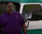 Lacoste Purple Polo Shirt Worn by Cedric the Entertainer in The Neighborhood S02E18 (3)