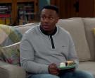 Lacoste Sweatshirt Worn by Marcel Spears in The Neighborhood S02E18 (2)