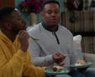 Lacoste Sweatshirt Worn by Marcel Spears in The Neighborhood S02E18 (3)
