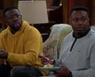 Lacoste Sweatshirt Worn by Marcel Spears in The Neighborhood S02E18 (4)