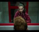 Lacoste Women's Red Jacket in Elite S03E05 (1)