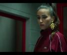 Lacoste Women's Red Jacket in Elite S03E05 (4)