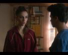 Lacoste Women's Red Jacket in Elite S03E05 (5)