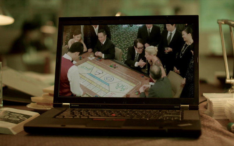 Lenovo W510 Notebook in Contagion (2011)