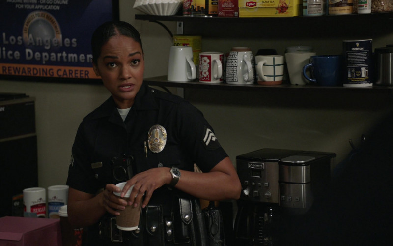 Lipton Black Tea and Cuisinart Coffee Maker in The Rookie S02E14