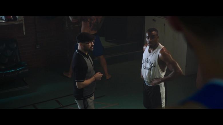 Lonsdale Men's White T-Shirt in The Gentlemen (2019)