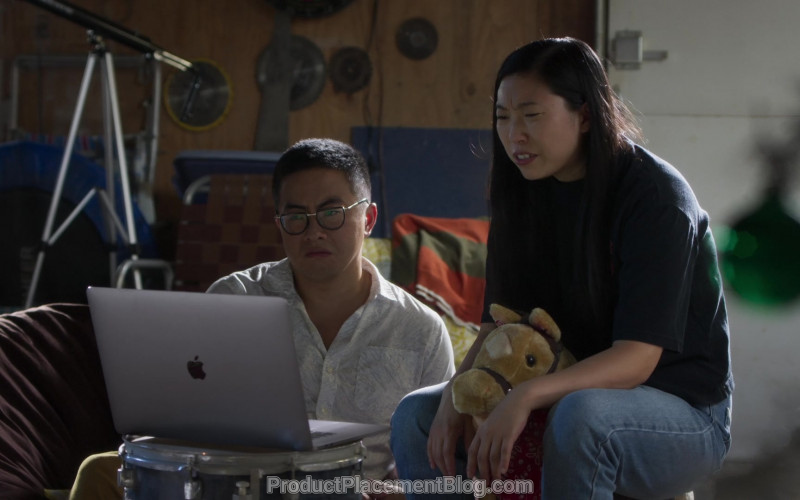 MacBook Pro Laptop by Apple in Awkwafina Is Nora from Queens S01E07