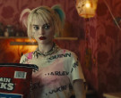 Maintain Chunks Dog Food Held by Margot Robbie as Harleen Quinzel in Birds of Prey (5)