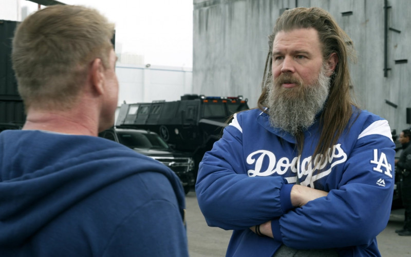 Majestic LA Dodgers Jacket in S.W.A.T. S03E17