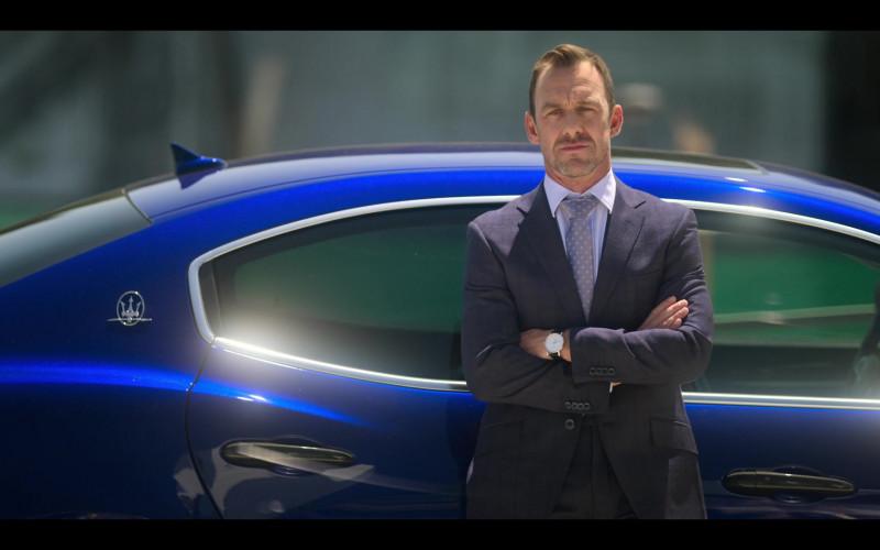 Maserati Blue Car in Elite S03E02 Samuel y Guzmán (2020)