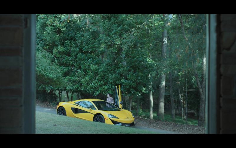 McLaren Yellow Sports Car in Ozark S03E07 (1)
