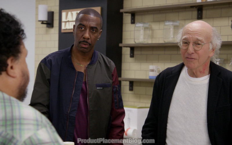 Members Only Bomber Jacket Worn by J. B. Smoove as Leon Black in Curb Your Enthusiasm S10E07 (3)