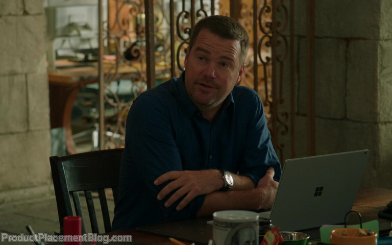 Microsoft Surface Laptop Used by Chris O'Donnell as Grisha 'G.' Callen in NCIS Los Angeles S11E17 (3)