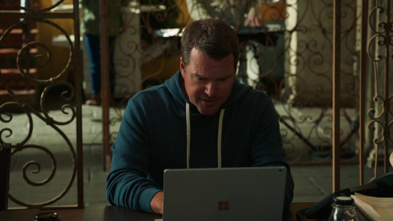 Microsoft Surface Laptop Used by Chris O'Donnell as Lead Senior Field Agent G. Callen in NCIS Los Angeles (1)