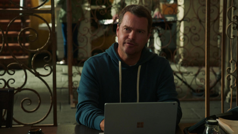 Microsoft Surface Laptop Used by Chris O'Donnell as Lead Senior Field Agent G. Callen in NCIS Los Angeles (2)