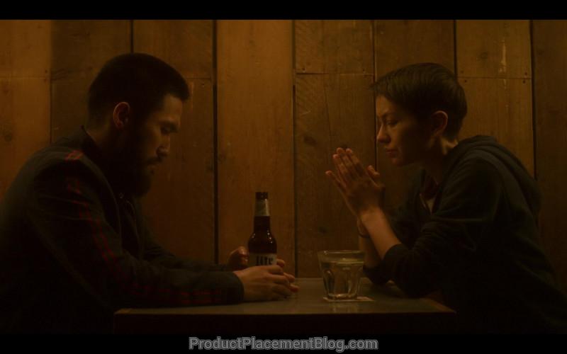 Miller Lite Beer Enjoyed by Jin Ha as Jamie in Devs S01E01 (2)