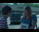 Miller Lite Beer Held by Laura Linney as Wendy Byrde in Ozark S03E02 Civil Union (2)