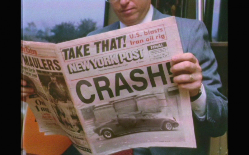 New York Post Newspaper in Black Monday S02E01 Mixie-Dixie