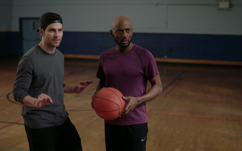 Nike Black Shorts Worn by Romany Malco as Rome Howard in A Million Little Things S02E17