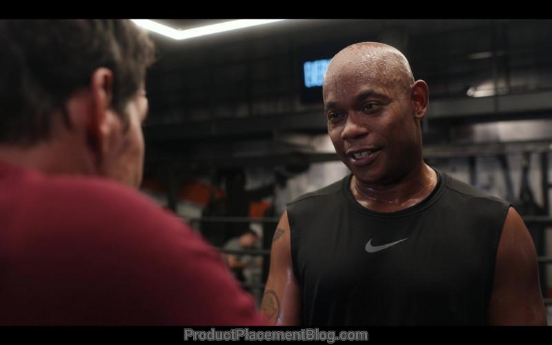 Nike Black T-Shirt Worn by Bokeem Woodbine in Spenser Confidential (3)
