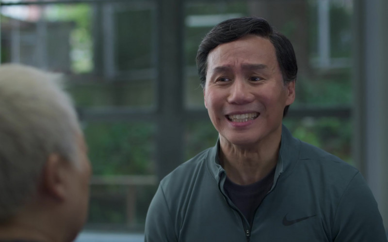Nike Green Shirt Worn by Bradley Darryl Wong in Awkwafina Is Nora from Queens S01E09 (1)