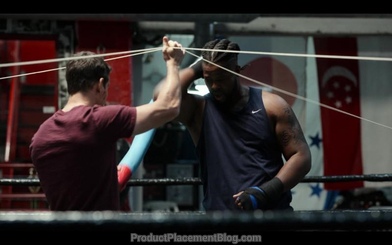 Nike Tee Worn by Winston Duke in Spenser Confidential (2020)