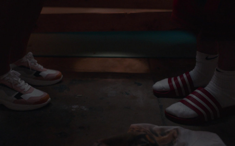 Nike White Socks Worn by Lil Dicky in Dave S01E03