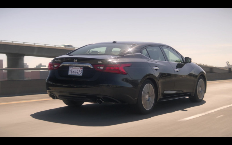 Nissan Maxima SL Black Car in Devs S01E03