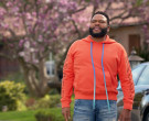 Off-White Orange Hoodie Worn by Anthony Anderson in Black-ish S06E18 (3)