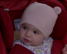 Peg Perego Red Car Seat in Mom S07E18 (1)
