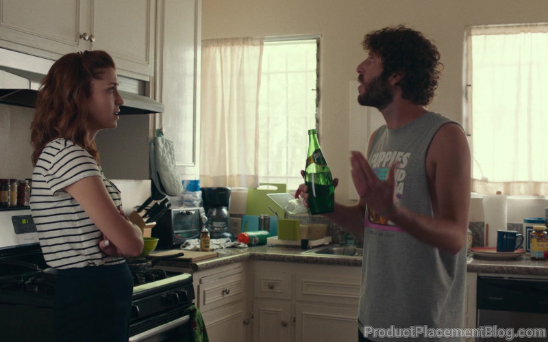 Perrier Water Bottle Held by Lil Dicky in Dave S01E01 The Gander (2020)