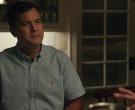Ralph Lauren Blue Short Sleeve Shirt Worn by Joshua Jackson ...