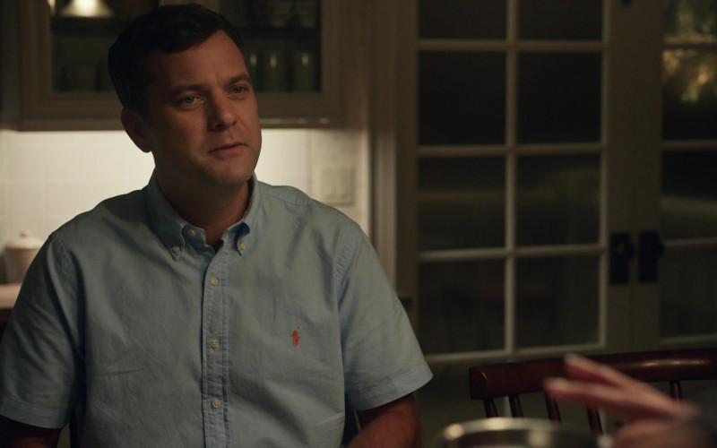 Ralph Lauren Blue Shirt Worn by Joshua Jackson in Little Fires Everywhere S01E01