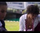 Ralph Lauren White Long Sleeve Shirt Worn by Jorge López as Valerio Montesinos in Elite S03E06 (1)