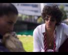 Ralph Lauren White Long Sleeve Shirt Worn by Jorge López as Valerio Montesinos in Elite S03E06 (2)