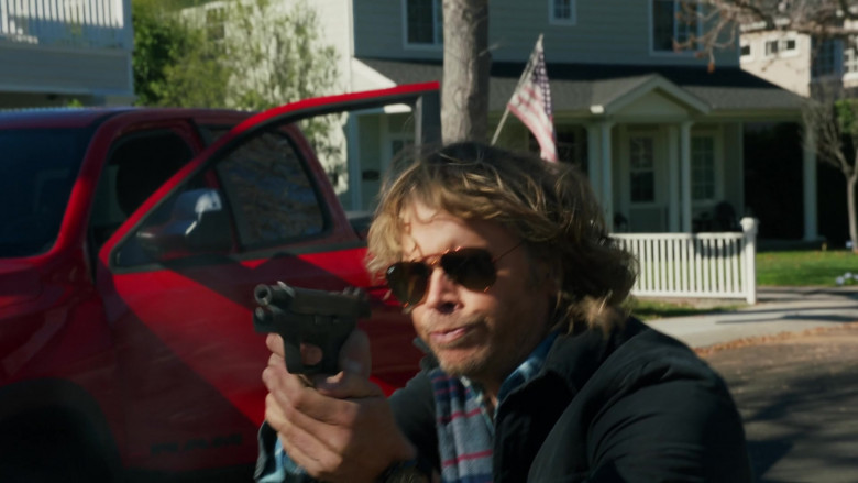 Ray-Ban Aviator Sunglasses Worn by Eric Christian Olsen in NCIS Los Angeles S11E19 (2)