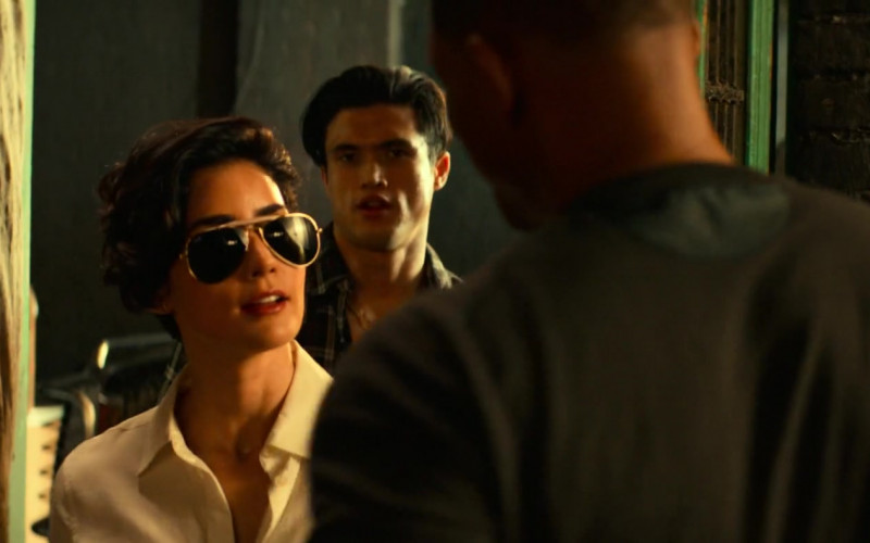 Ray-Ban Aviator Sunglasses Worn by Paola Núñez as Rita Secada in Bad Boys for Life