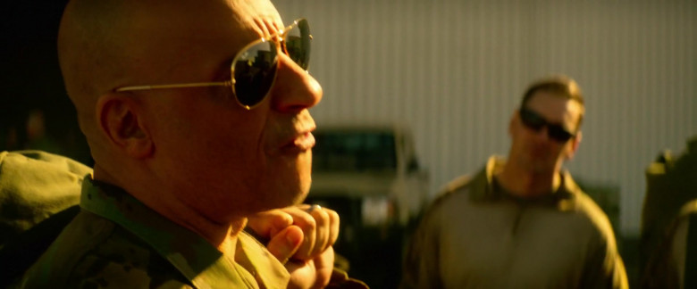 Ray-Ban Aviator Sunglasses Worn by Vin Diesel as Ray Garrison in Bloodshot (1)