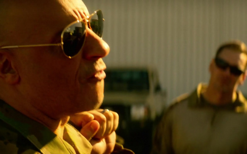 Ray-Ban Aviator Sunglasses Worn by Vin Diesel as Ray Garrison in Bloodshot (1)